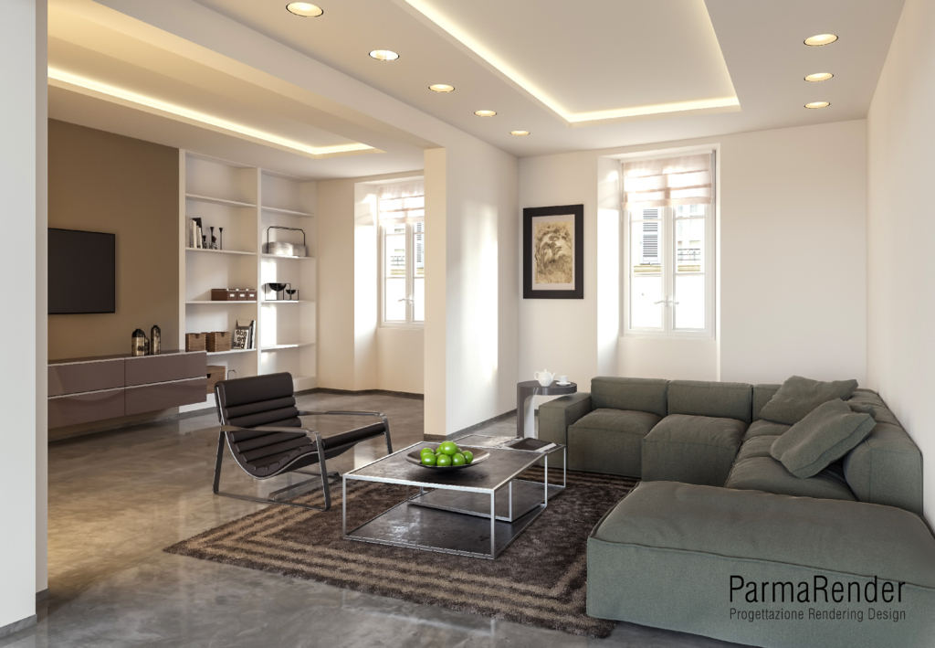 Render interni parma parma render 3d modelli 3d for Software arredamento